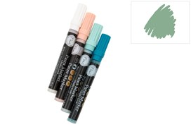 PAINT MARKERS CHALKY LOOK WELCOME GREEN FLEUR