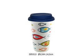 MUG TRAVEL D.9.5 X 14.3CM - 400ML ONDINE